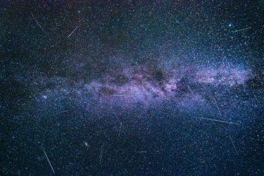 ペルセウス座流星群2020静岡県で見える場所は?ピーク時間はいつ?