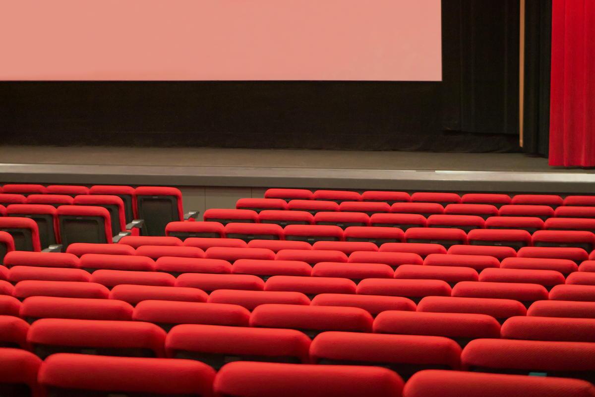映画館の内部